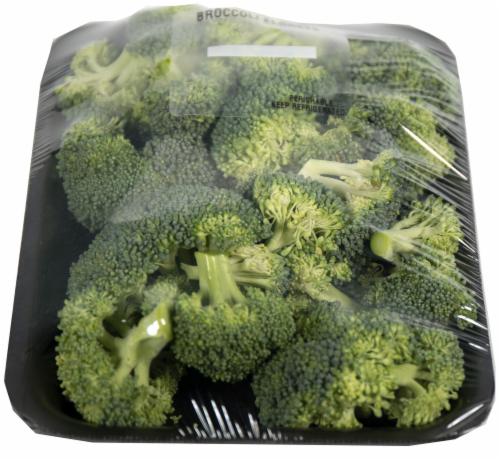 Crazy Fresh Broccoli Florets Perspective: front