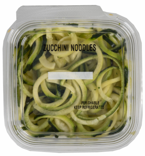 Crazy Fresh Zucchini Noodles Perspective: front