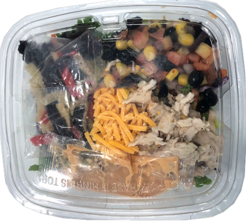 Crazy Fresh Southwest Style Chicken Salad Perspective: front
