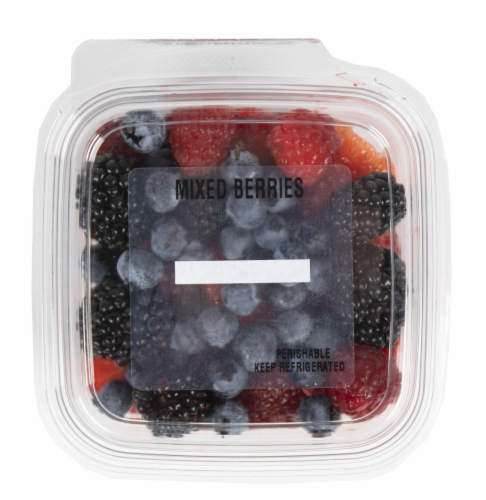 Crazy Fresh Mixed Berries Perspective: front