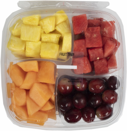 Crazy Fresh Fruit Snack Tray Perspective: front