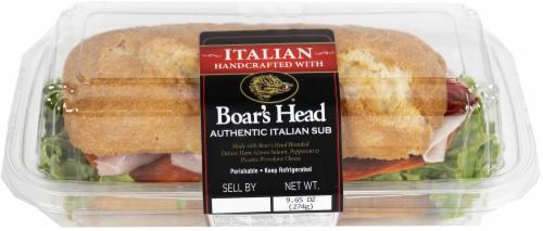 Boar's Head Authentic Italian Sub Perspective: front