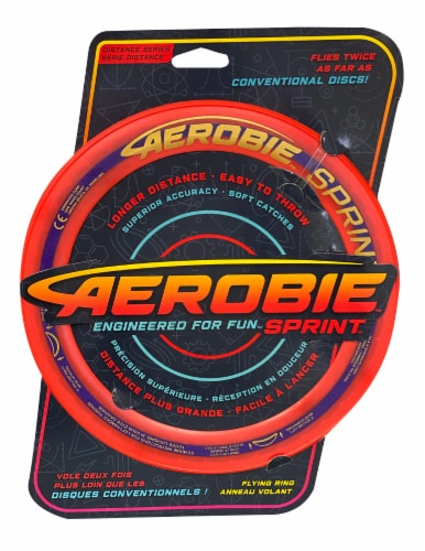 Aerobie Sprint Distance Series Flying Ring Perspective: front