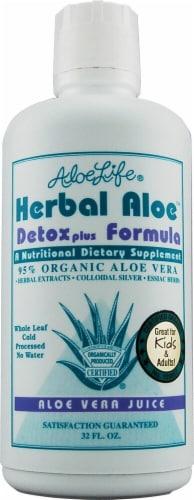 Aloe Life  Herbal Aloe™ Detox Plus Formula Perspective: front