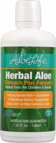 Aloe Life  Herbal Aloe™ Stomach plus Formula Perspective: front