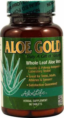 Aloe Life  Aloe Gold Perspective: front
