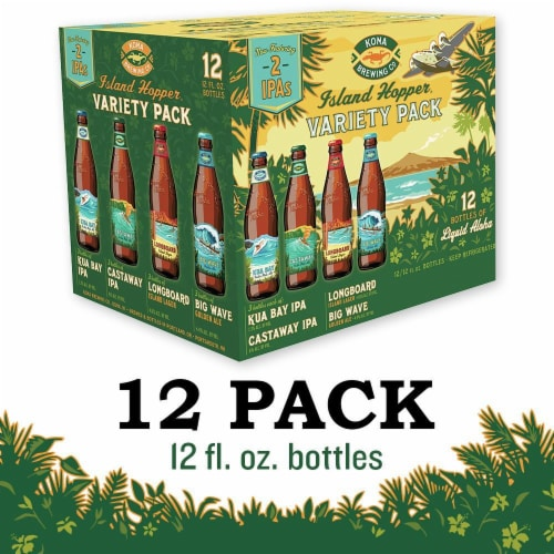 Kona Brewing Co. Island Hopper Variety Pack Perspective: front