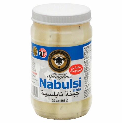 Karoun Nabulsi Cheese in Brine Perspective: front
