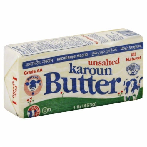Karoun Unsalted Butter Perspective: front