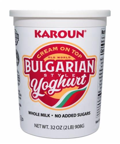 Karoun Bulgarian Style Cream On Top Yoghurt Perspective: front