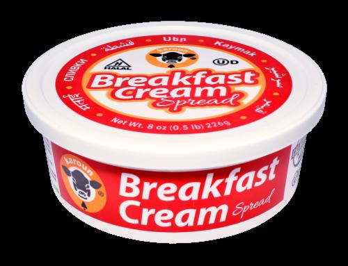 Karoun Breakfast Cream Spread Perspective: front