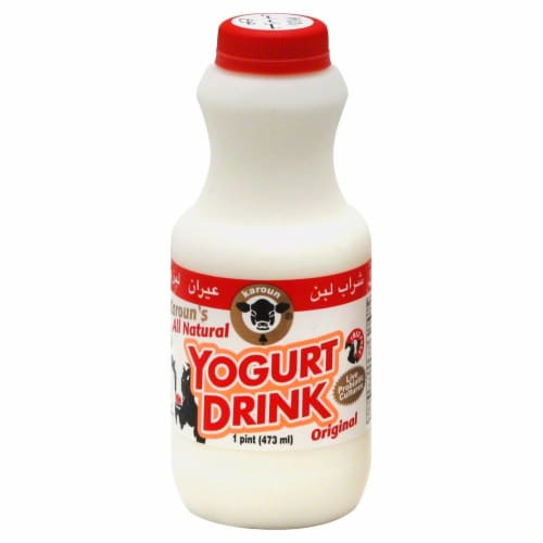 Karoun Original Yogurt Drink Perspective: front