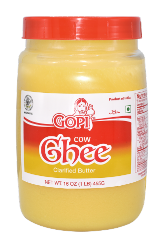 Gopi Ghee Clarified Butter Perspective: front