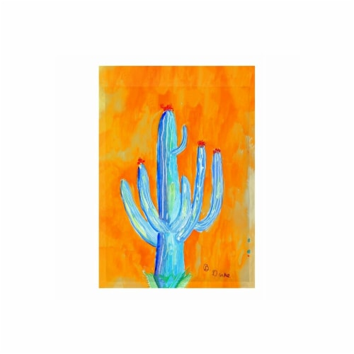 Betsy Drake FL1110G 28 x 40 in. Tall Cactus Flag Perspective: front