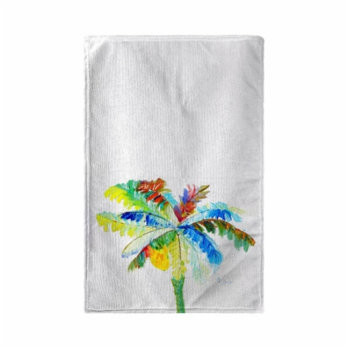 Betsy Drake KT1094 Big Palm Kitchen Towel Perspective: front