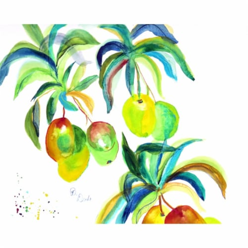Betsy Drake PM1104 Mangos Place Mat - Set of 4 Perspective: front