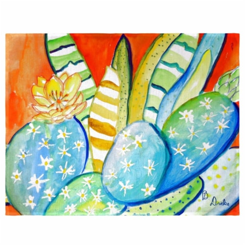 Betsy Drake PM1114 Cactus III Place Mat - Set of 4 Perspective: front