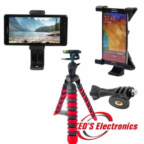 Spider Tripod+ Phone Holder+ipad Holder+gopro Mount Perspective: front