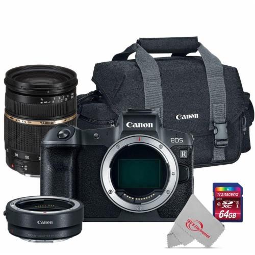 Canon Eos R 30.3mp Mirrorless Full-frame Cmos Sensor Camera Body + Tamron Sp 28-75mm Lens Kit Perspective: front
