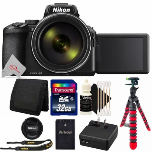 Nikon Coolpix P950 16mp Wi-fi Digital Camera With 32gb Card And Accessory Bundle Perspective: front