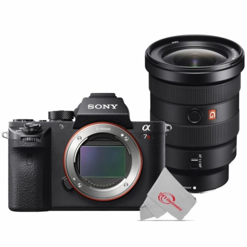 Sony Alpha A7r Ii Full-frame Mirrorless Digital Camera + Sony 16-35mm F/2.8-22 Lens Perspective: front