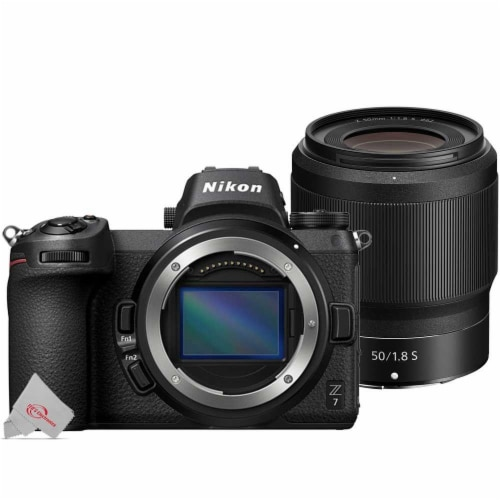 Nikon Z 7 Mirrorless Digital Camera Body With Nikkor Z 50mm F/1.8 S Lens Perspective: front