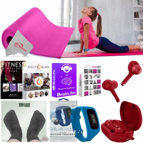 Pure Fitness Kit To Help Loose Weight Exercise Regularly Stay Shaped Gift Idea Perspective: front