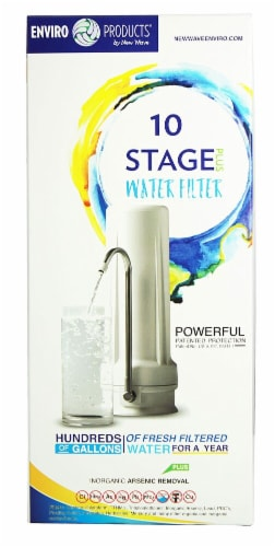 New Wave Enviro 10 Stage Water Filter Perspective: front