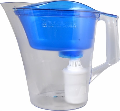New Wave Enviro Barrier Water Filter Pitcher - Grand Blue Perspective: front