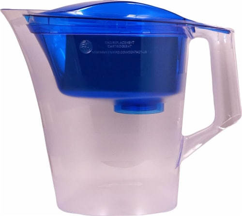 New Wave Enviro  Alkaline Plus Pitcher Filter Perspective: front