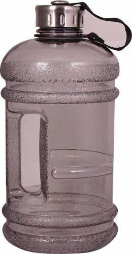 New Wave Enviro  2.2 Liter BPA Free Bottle® Charcoal Perspective: front