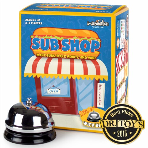 Sub Shop Board Game Perspective: front