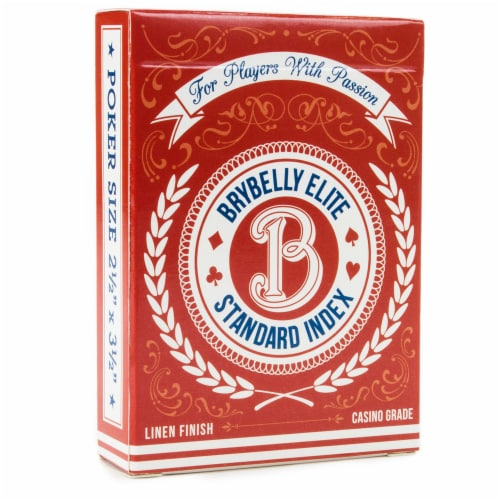 Red Brybelly Elite Medusa Deck - Wide Size / Reg. Index Perspective: front