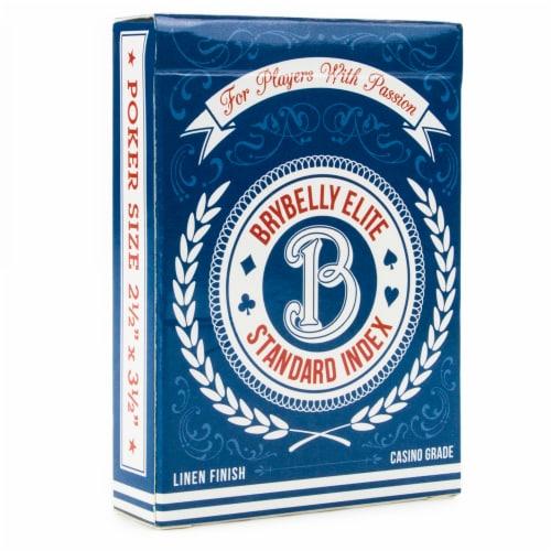 Blue Brybelly Elite Medusa Deck - Wide Size / Reg. Index Perspective: front