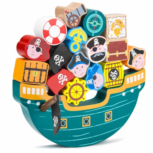 Blockbeard's Balance Boat Playset Perspective: front