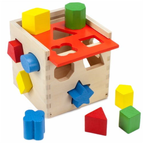 Smart Shapes Sorting Cube Perspective: front