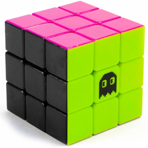 Stickerless Speed Cube 80s Mod Perspective: front