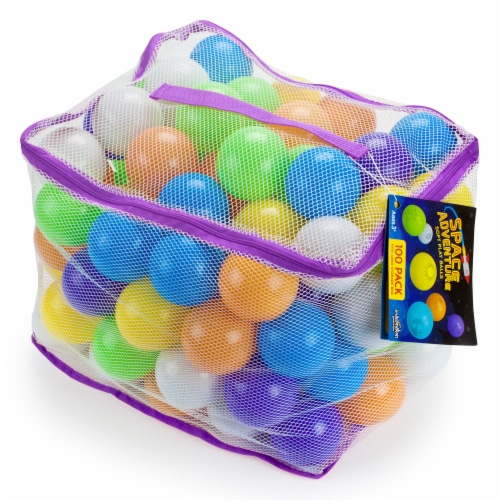Space Adventure Soft Play Balls, 100-pack Perspective: front