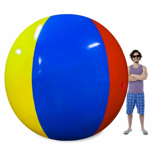 The Beach Behemoth Giant 12-Foot Beach Ball Perspective: front
