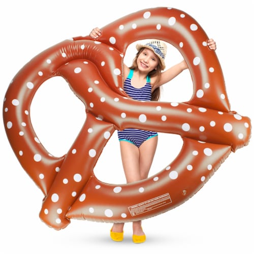 "54"" Pretzel Pool Float Perspective: front"
