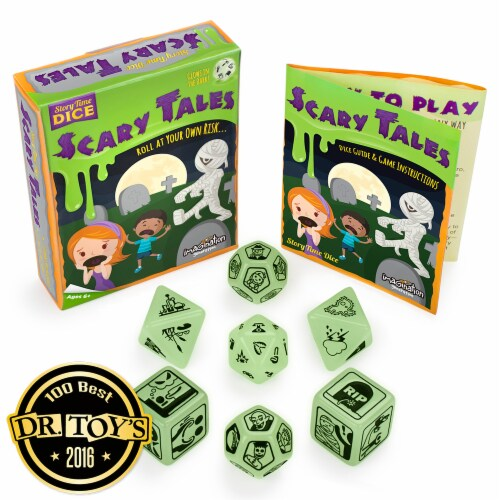 Story Time Dice: Scary Tales Perspective: front