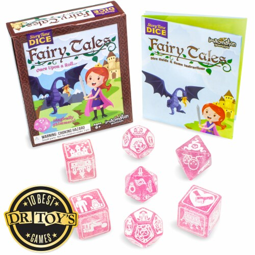 Story Time Dice: Fairy Tales Perspective: front