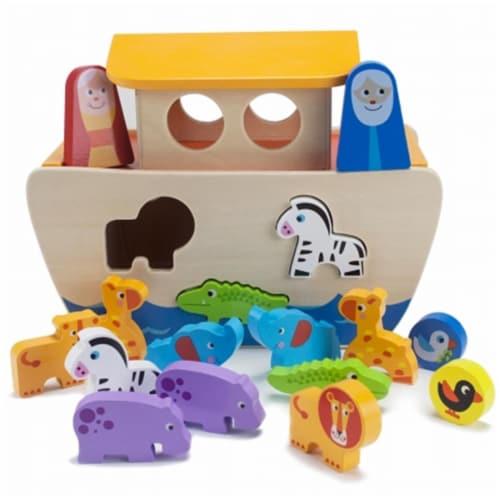 Noah's Ark Playset Perspective: front