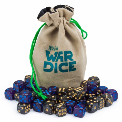 Set of 40 12mm War Dice, Galactic Conquest Perspective: front