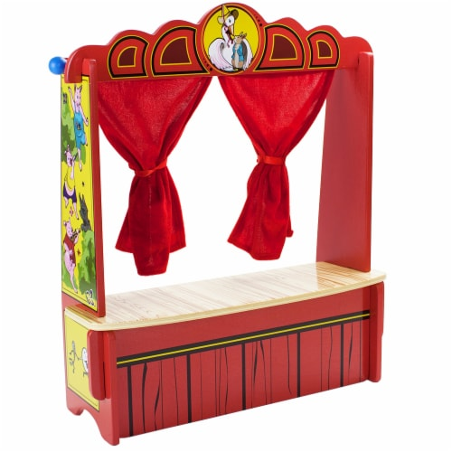 Mother Goose's Tabletop Puppet Theater Perspective: front