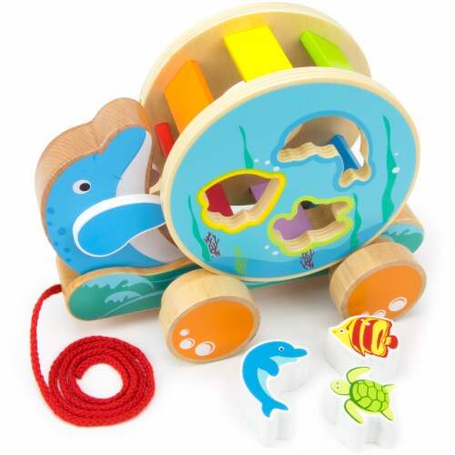 Ocean Pals Spinning Shape Sorter Perspective: front