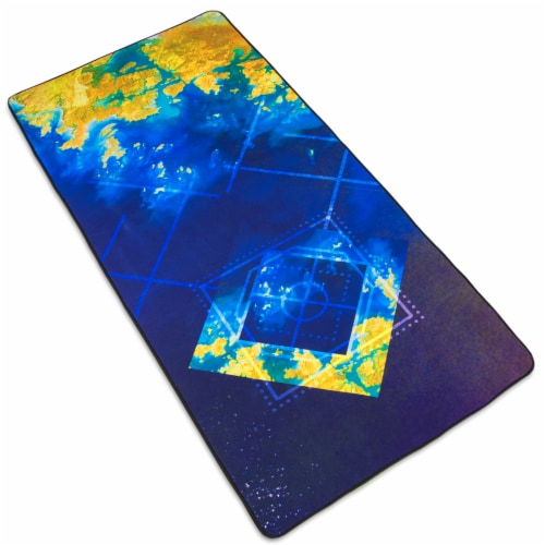 Golden Seas Deskpad, XL Extended Perspective: front