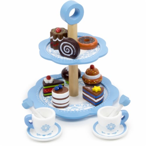 Chocolate Dessert Tower Perspective: front