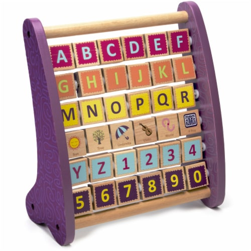 Professor Poplar's Amazing Alph-abacus Perspective: front