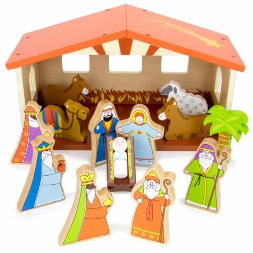 Nativity Set Perspective: front